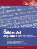 img - for The 1989 Children Act Explained (Point of Law) book / textbook / text book