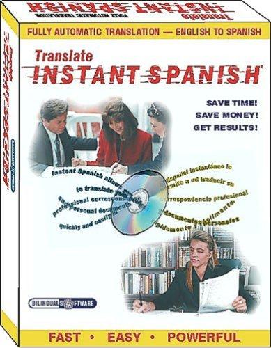 Instant Spanish TranslatorB0000TFGEG : image