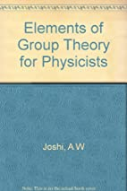 Elements of group theory for physicists by…