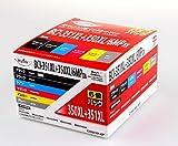 351XL+350XL/6MP互換 日本ナインスターMyink正規品 キヤノン BCI-351XL+350XL/6MP 大容量タイプ 正規メーカー検品済み【アウトレット訳あり品】