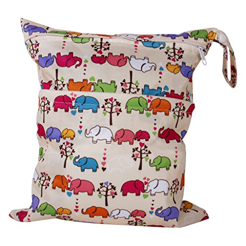 2-zip-washable-baby-cloth-diaper-nappy-bag-elephant-pattern