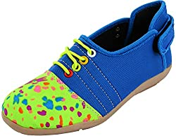 Red Rivin Girls Multicolour Synthetic Casual Shoes - 38 EU