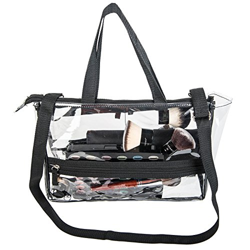Shany Clear Travel Makeup Bag Cosmetics Organizer Game