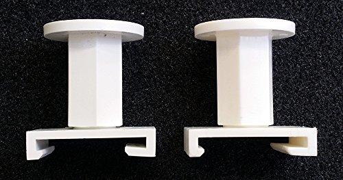 2x-Kermi-Abstandshalter-fr-Heizkrper-je-25-40mm-verstellbar