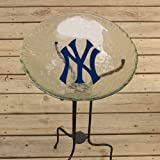 New York Yankees Glass Bird Bath at Amazon.com