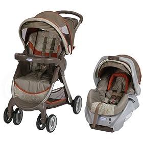 (降价)葛莱婴儿推车+提篮安全座椅$159.99