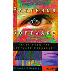 Umschlag von 'Patterns of Software: Tales from the Software Community'