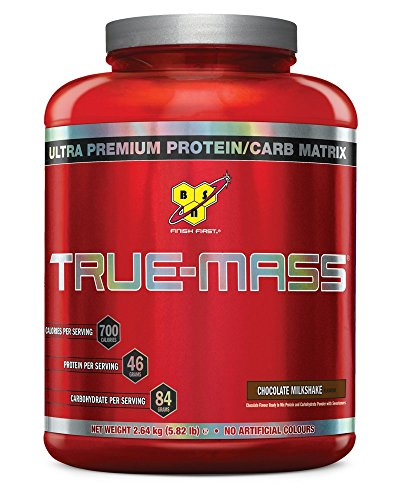 BSN Supplemento Nutrizionale True Mass, Chocolate, 16Srv, Eu Multi-Lingual - 4800 gr