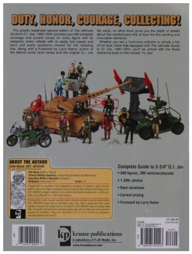 The Ultimate Guide to G.I. Joe 1982-1994: Identification and Price Guide (Ultimate Guide to G.I. Joe 1982-1994: Identification & Price Guide)