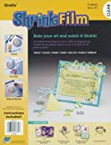Grafix KSF6-C 8-1/2-Inch by 11-Inch Shrink Film, Clear, 6-Pack