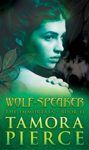 Cover of Wolf-Speaker (Immortals #2)