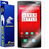 ArmorSuit MilitaryShield - OnePlus One Screen Protector Anti-Bubble Ultra HD - Extreme Clarity & Touch Responsive Shield with Lifetime Free Replacements - Retail Packaging