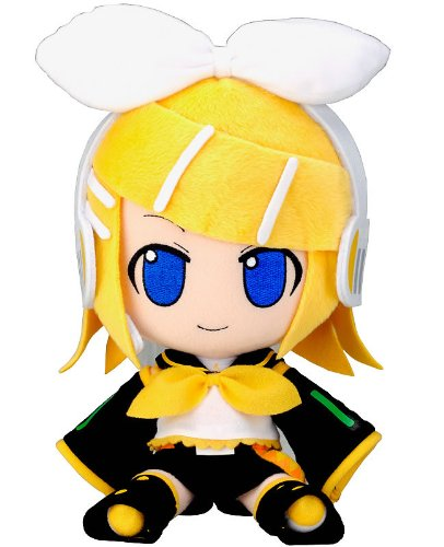 Official Nendoroid Vocaloid Series 06 Plush Toy – 12″ Kagamine Rin (Japanese Import) image