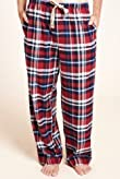 North Coast Pure Brushed Cotton Checked Pyjama Bottoms [T07-3757-S]