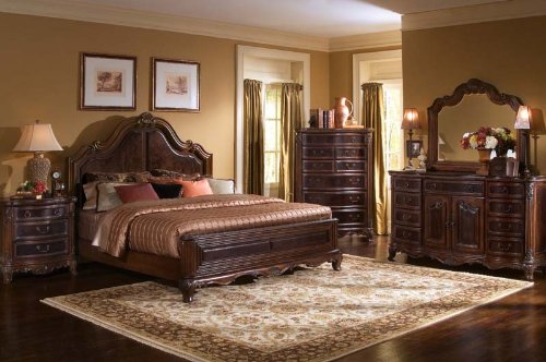 Classic Bedroom Furniture Set Interior Design