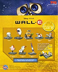 Disney Walle Collect and Build Capsule Toys Set of 8 Vending Toys