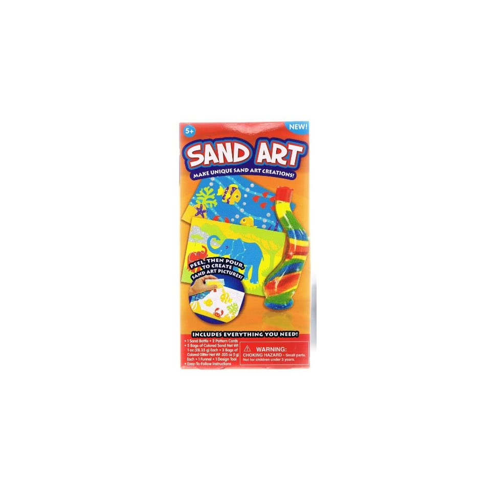 Sand Art Creations  Sand Bottle & Pattern Cards