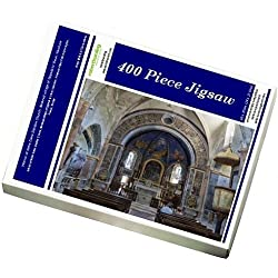 Photo Jigsaw Puzzle of Interior of Notre Dame Dalidon Church, Medieval village of Oppede le Vieux