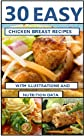 30 Tasty & Easy Chicken Breast Recipes (With Illustrations, Calories and Nutrition Data)
