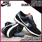 NIKE(ナイキ) エスビー ダンク ロー プロ NIKE SB DUNK LOW PRO Black/Reflect Silver-New Slate/メンズ(men's) 靴 スニーカー(304292-035) Black/ReflectSilver-NewSlate,27.5cm(US9h)