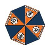 NCAA Illinois Fighting Illini Auto Portable Aluminum Foldable Rain Umbrella (Sunny Umbrella)