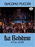 Puccini: LA Boheme in Full Score