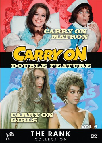 Cover art for  Carry On Double Feature Vol 6: Carry On Matron &amp; Carry On Girls