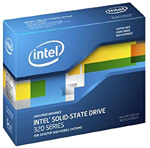 Intel 320 Series 80 GB SATA 3.0 Gb-s 2.5-Inch Solid-State Drive