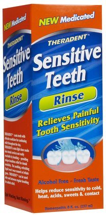 Theradent Sensitive Teeth Oral Rinse-8, oz (Quantity