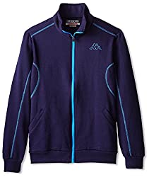Kappa Men's Varylo Sport Fleece Jacket, Navy/Blue, S