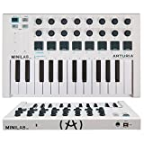 Arturia MINILAB mkII universal MIDI Controller with 1 Year Free Extended Warranty