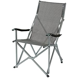 Coleman Summer Sling Chair - Silver/Grey: Amazon.co.uk: Sports ...