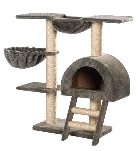 arbre chat avec hamac. Black Bedroom Furniture Sets. Home Design Ideas
