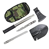 BeneU® Outdoors 4-in-1 Multi-functional Emergency Camping Survival Tools Kit
