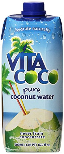 Vita Coco Coconut Water, Pure, 16.9 Ounce (Pack of 12) (Vitacoco Pure Coconut Water compare prices)