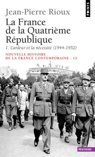 Image for LA FRANCE DE LA QUATRIEME