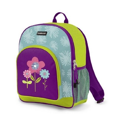 Child'S Backpack From Crocodile Creek - Three Flowers front-1060224