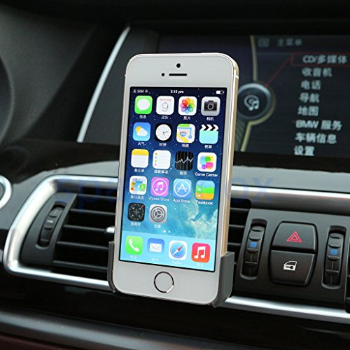 Cloak Electronics (TM) Car Vent Cradle Clip Mount for iPhone 4/4S/5/5S/5C image