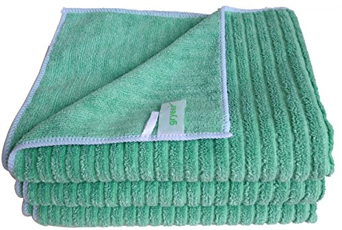 Gryeer Super Absorbant Kitchen Towels - Large and Thick Dish ...