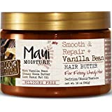 Maui Moisture Smooth and Repair Plus Vanilla Bean, Hair Butter, 12 Ounce (Pack of 6) (Tamaño: 12 Ounce (Pack of 6))