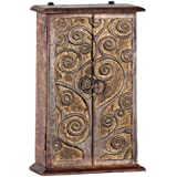 Carved Wood Altar Chest 2 Doors Magic Tree (each)