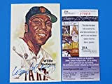 Willie Mccovey Signed 1987 Perez Steele Postcard ~ Hof ~ Sf Giants ~ T79918 - JSA Certified - MLB Cut Signatures