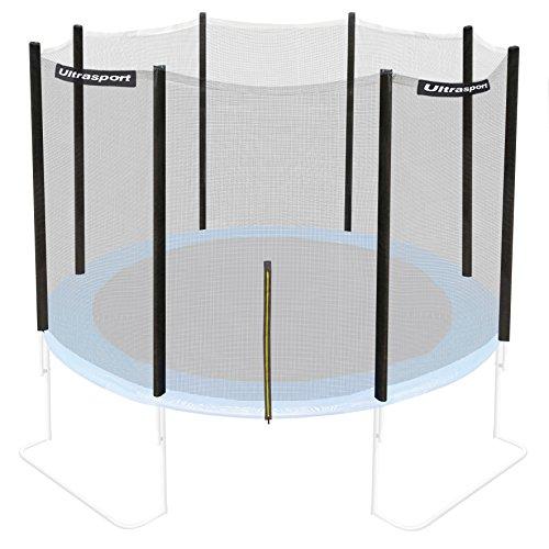 Ultrasport Jumper - Red de seguridad para cama elástica de jardín, 180 - 430 cm (compatible con modelos a partir de mayo 2014)