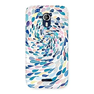 Delighted Rounding Design Back Case Cover for Micromax Canvas Magnus A117
