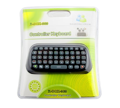 Text Chat Messaging Pad ChatPad Keyboard For XBOX 360 Live Games Controller