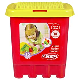 Playskool Clipo Figure Bucket