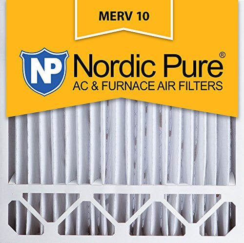 Nordic Pure 20x20x5, MERV 10, Lennox Replacement Air Filter, Box of 2 (Furnace Filters 20 X 20 X 5 compare prices)