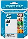 HP 44 (51644C) Cyan OEM Genuine Inkjet/Ink Cartridge - Retail