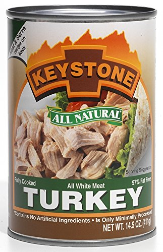Keystone Meats All Natural Canned Turkey, 14.5 Ounce (Keystone Canned Meat compare prices)