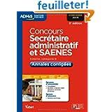 Concours Secrétaire administratif et SAENES - Annales corrigées - Catégorie B - Concours 2014